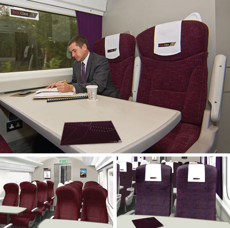 Cross Country Trains First Class